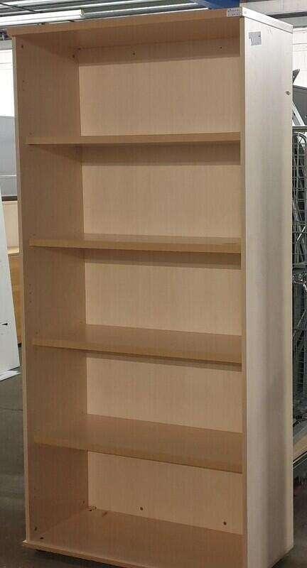 Tall Maple shelving unit