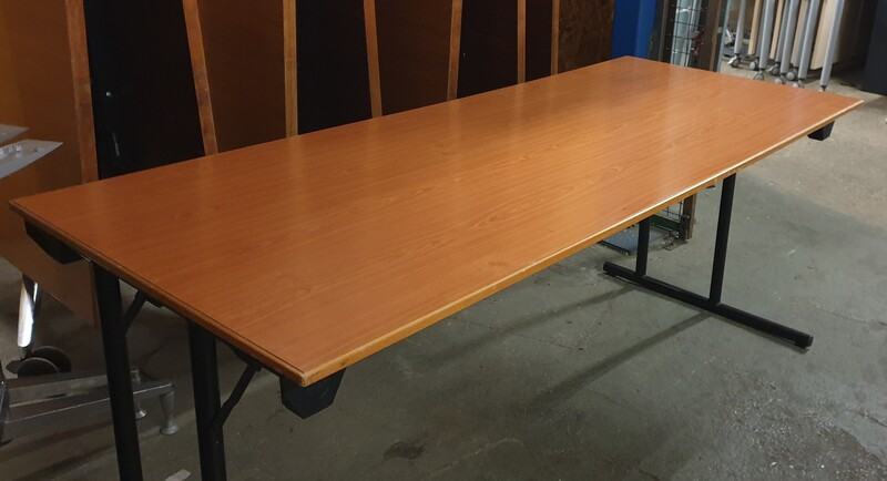 Cherry folding table
