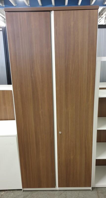 Tall walnut cupboard