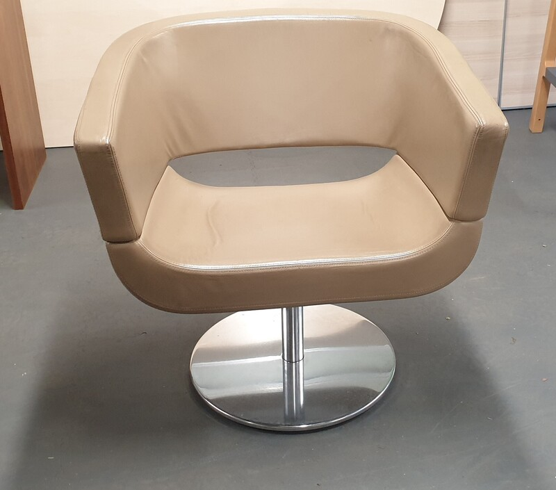 Allermuir Lola Chair Designed by Wolfgang C. R. Mezger