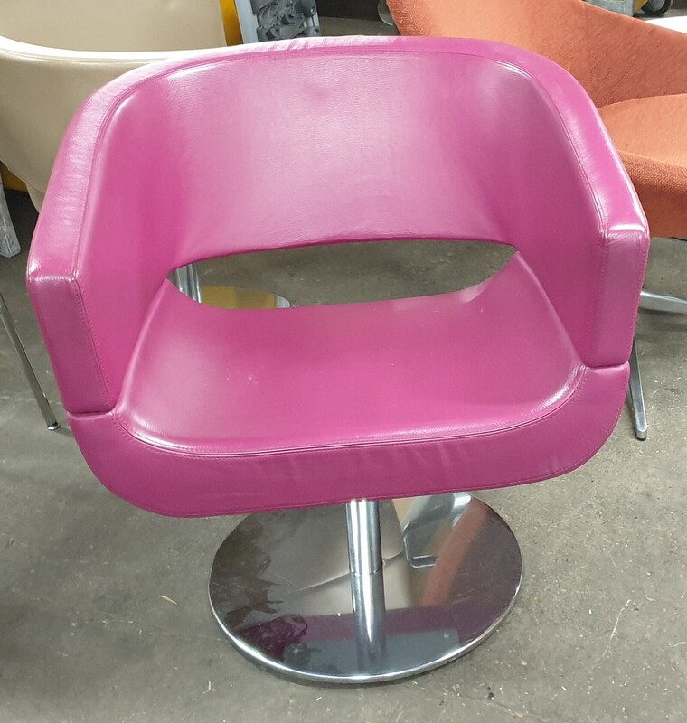 Allermuir Lola Chair Designed by Wolfgang C R Mezger