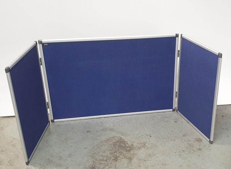 Blue notice board