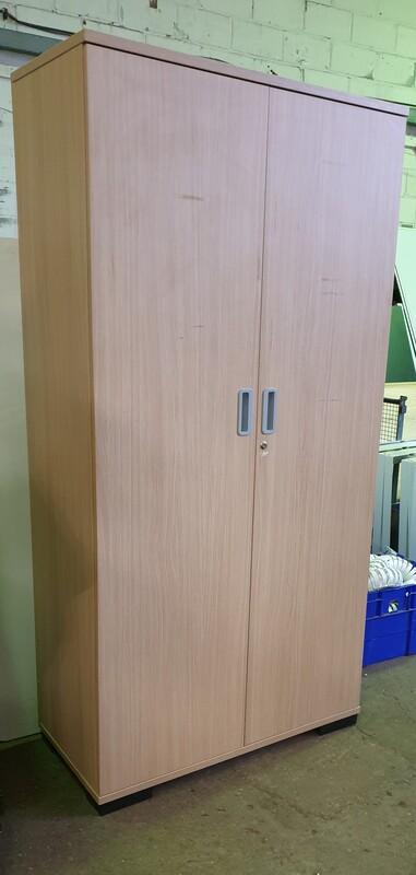 Light oak tall cupboard
