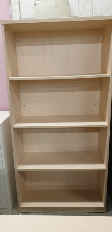 Maple shelving unit