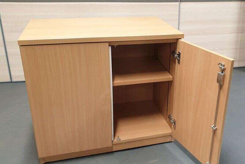 Beech wooden cupboard