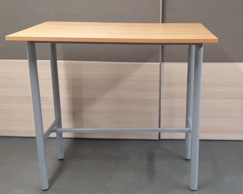 Beech poseur table