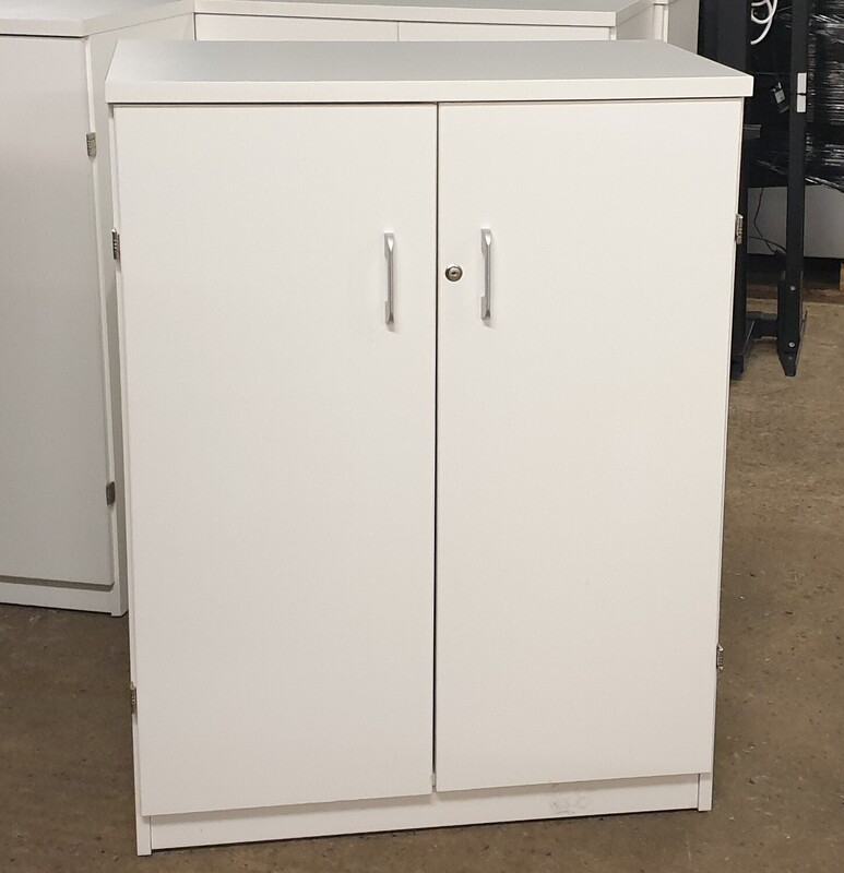 White wooden cupboard