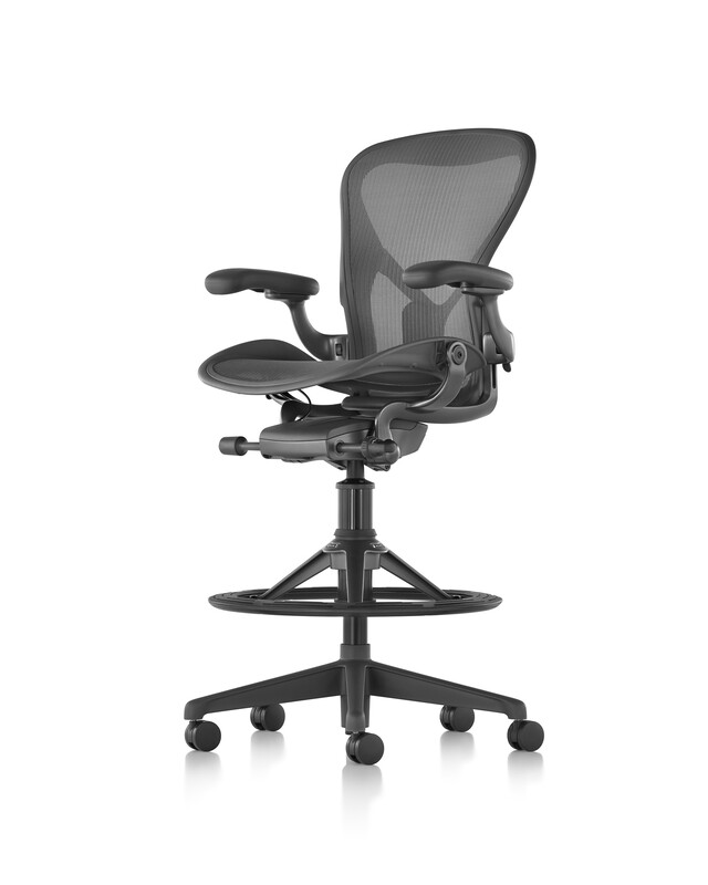 New Herman Miller Aeron Remastered stool