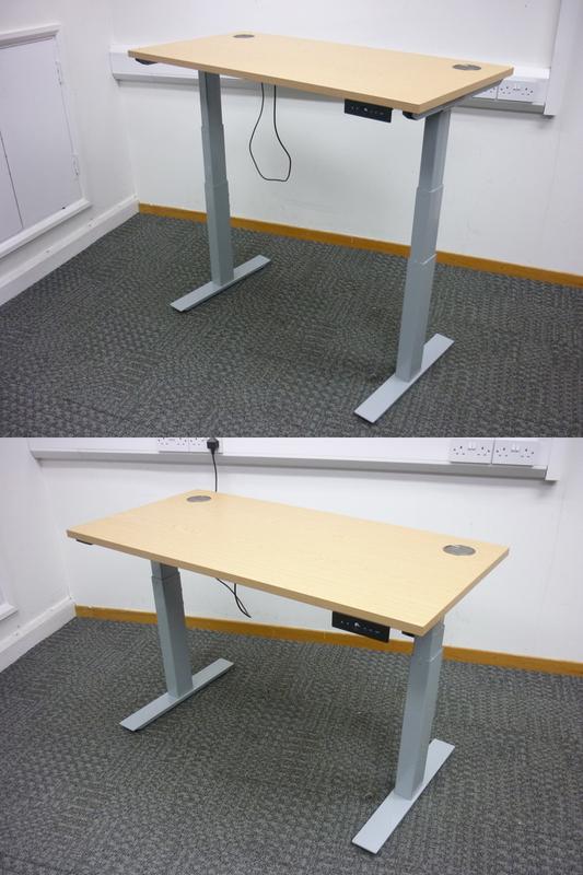 1200x600mm Century Autonomy Pro Electric desks