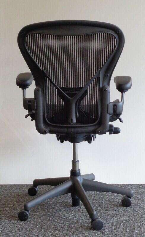 Herman Miller Aeron with Posturefit