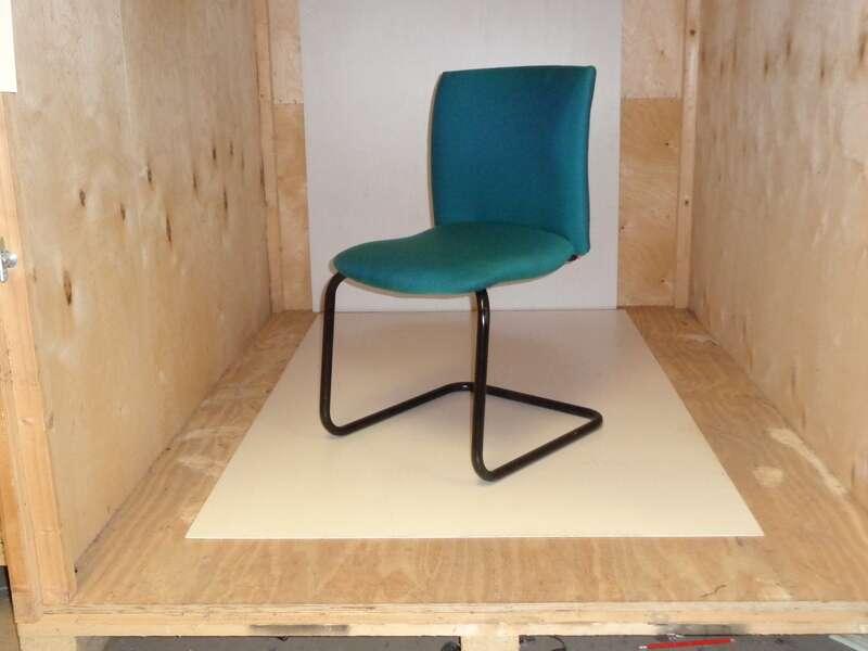 Comforto meeting chair aqua