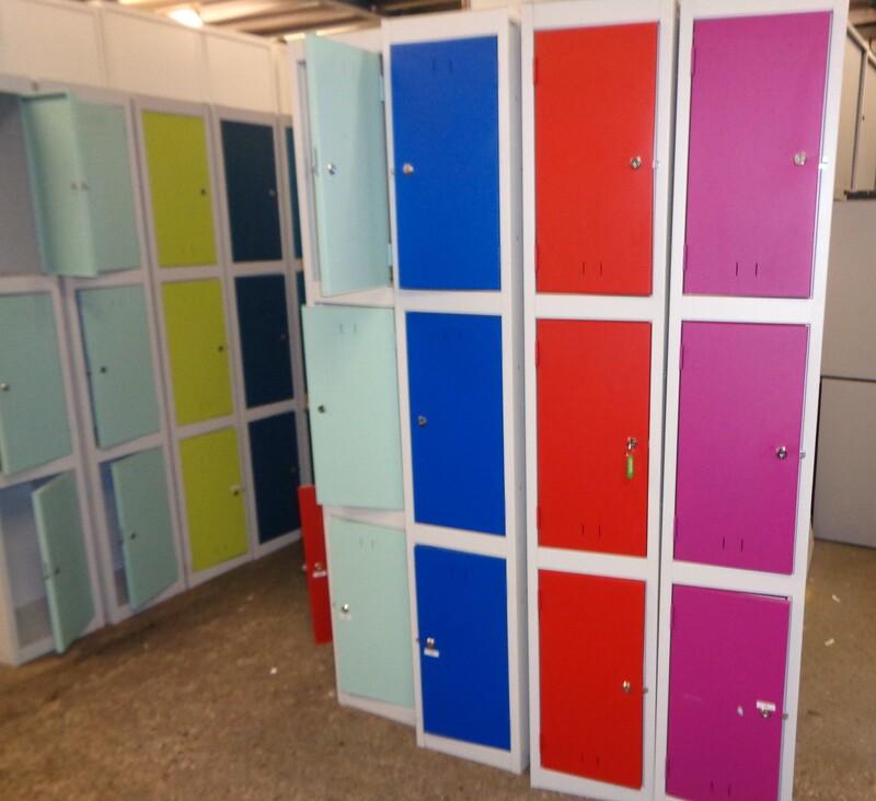 3 Door Lockers