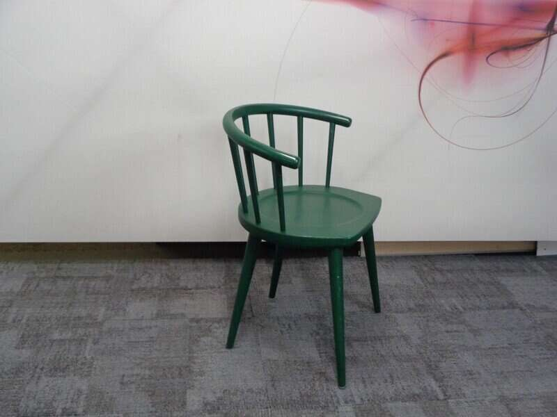 Andy Thornton green W. lounge chair
