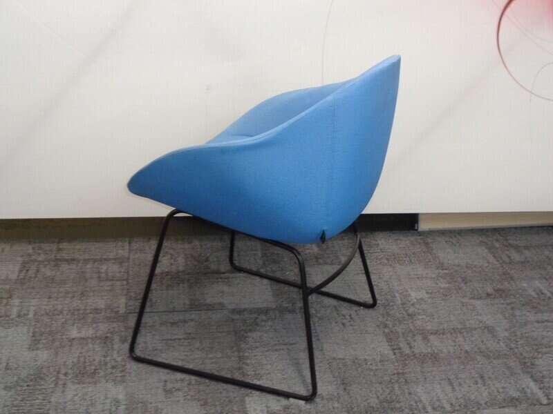 naughtone always chair in blue
