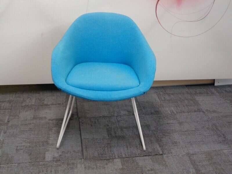 naughtone always chair in turquoise