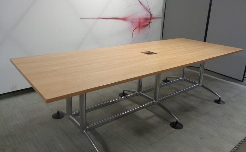 Oak Boardroom Table