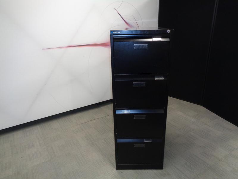 Bisley 4 Drawer Filing Cabinet