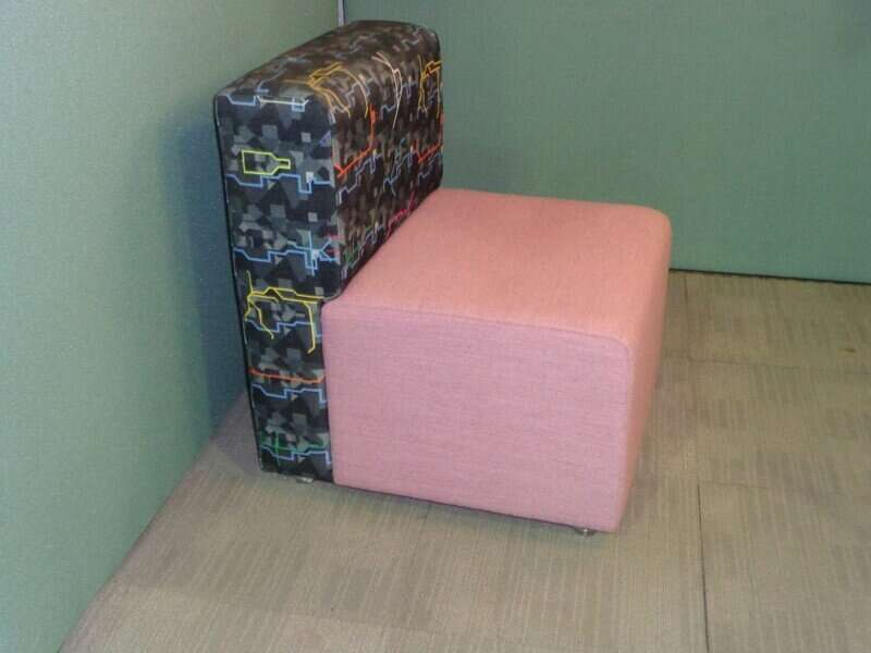 Funky breakout armchairs