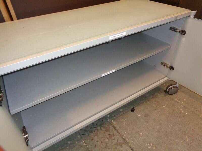 Mobile storage cupboard
