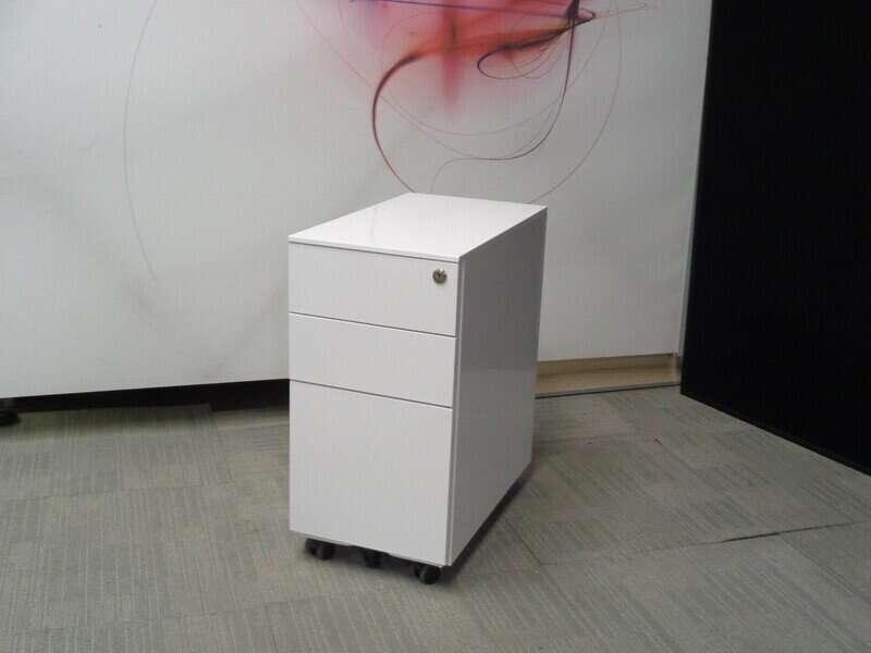 White Slimline Pedestal