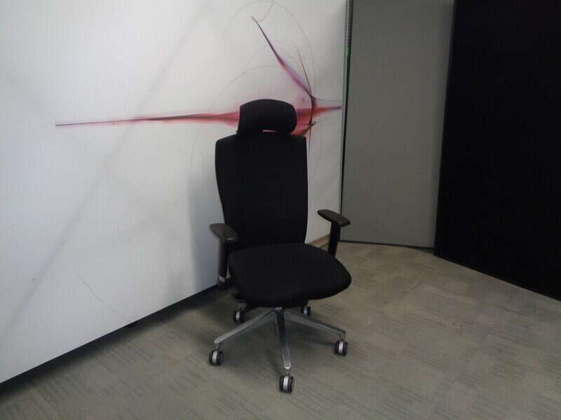 Connection Function Black Operator Chair