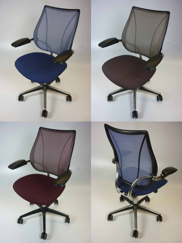 Humanscale Liberty mesh back task chairs
