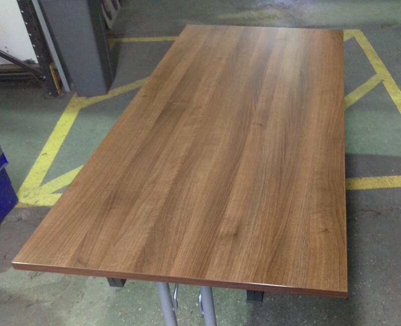 Walnut folding table