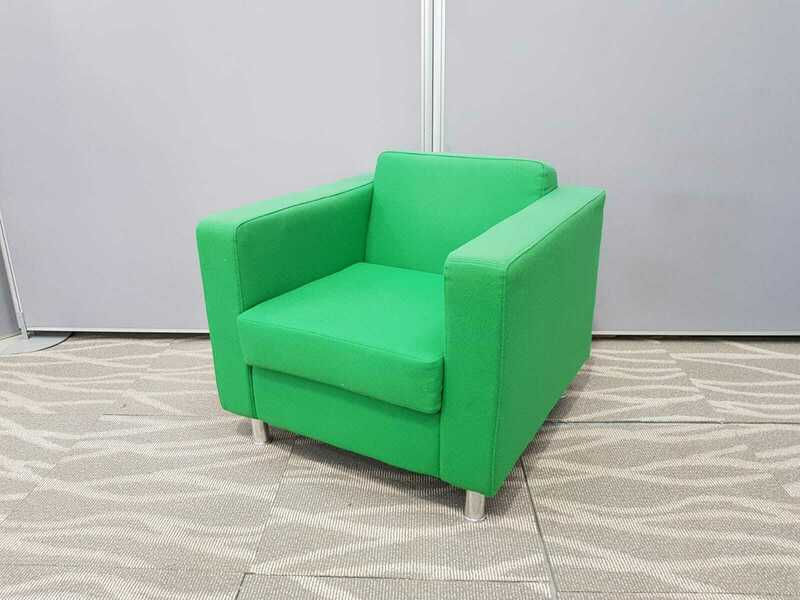 Green OCEE Dorchester armchairs