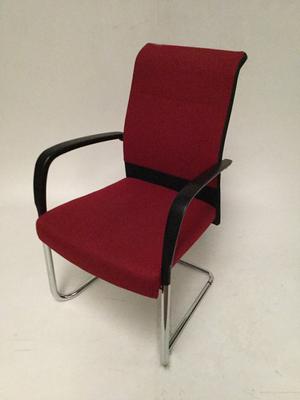 Kusch  Co red high back meeting chair