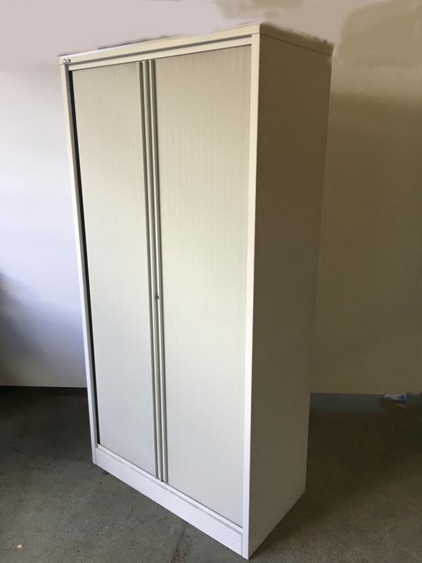 Silverline 2000mm high tambour cupboard