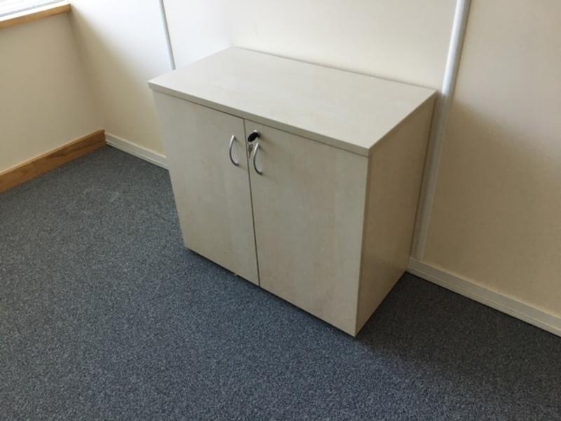Maple double door cupboard