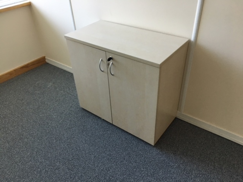 desk high maple cupboard