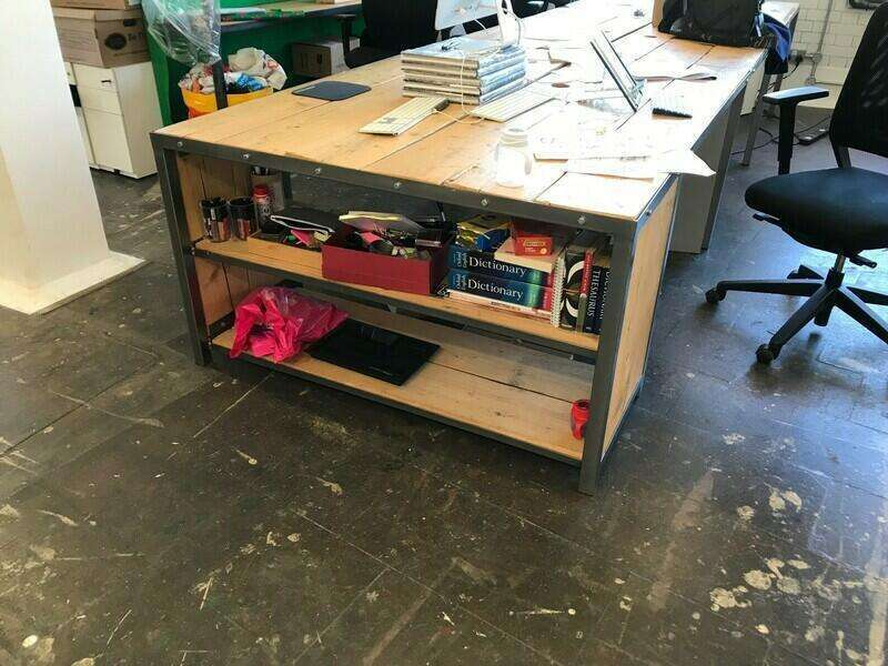 Bespoke designer bench desks, per person