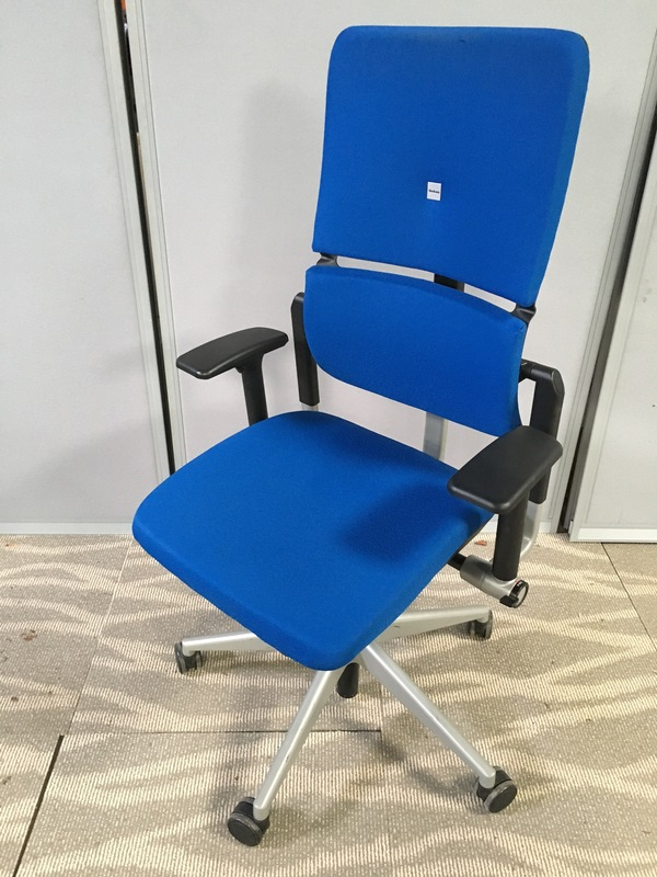 Royal Blue Steelcase Please v2 task chair