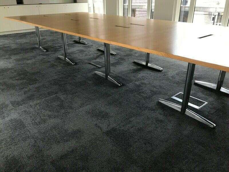 5000x2100/1600mm presentation boardroom table