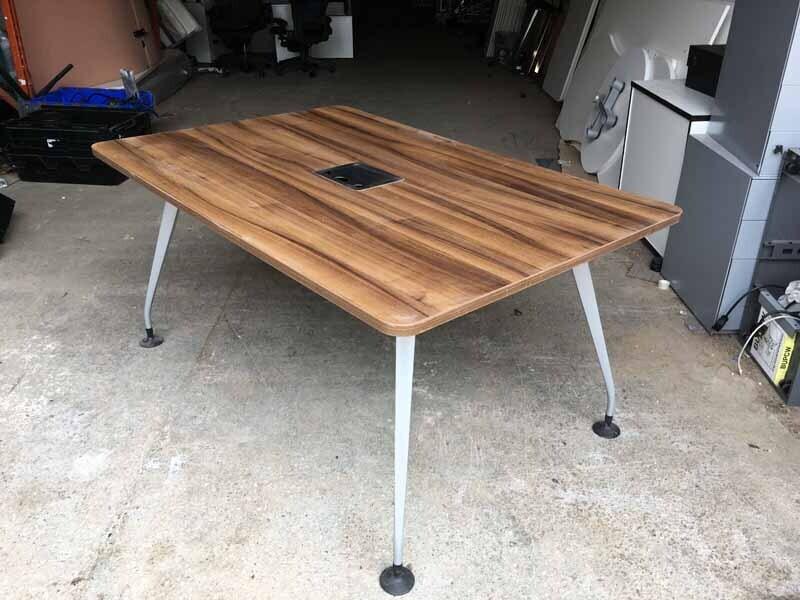 1500x1000mm walnut Orangebox Pars table