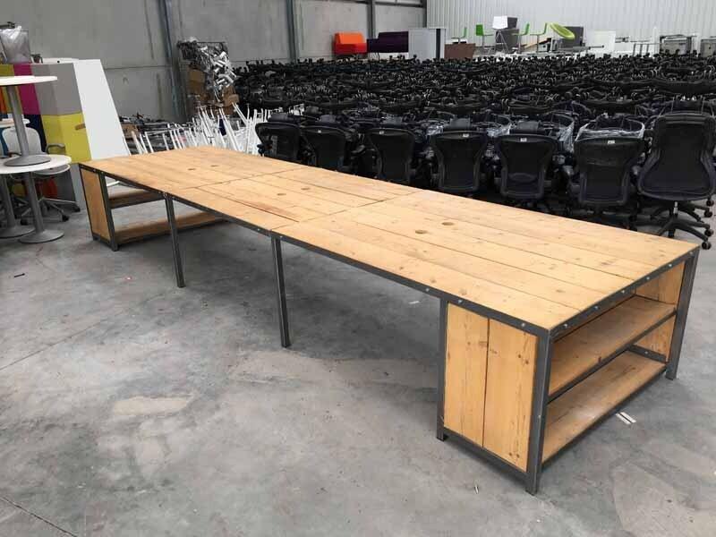 Bespoke designer bench desks