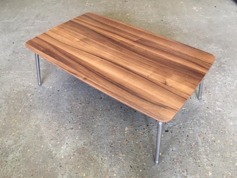 1030x630mm walnut coffee table