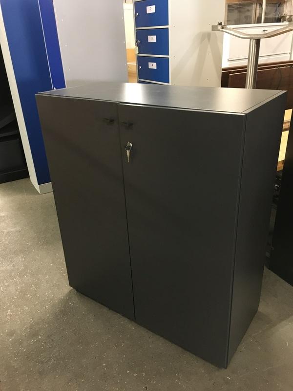 1160mm high graphite filing cupboard