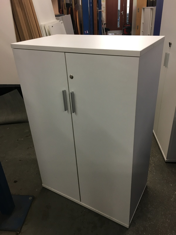 1200mm high white cupboard