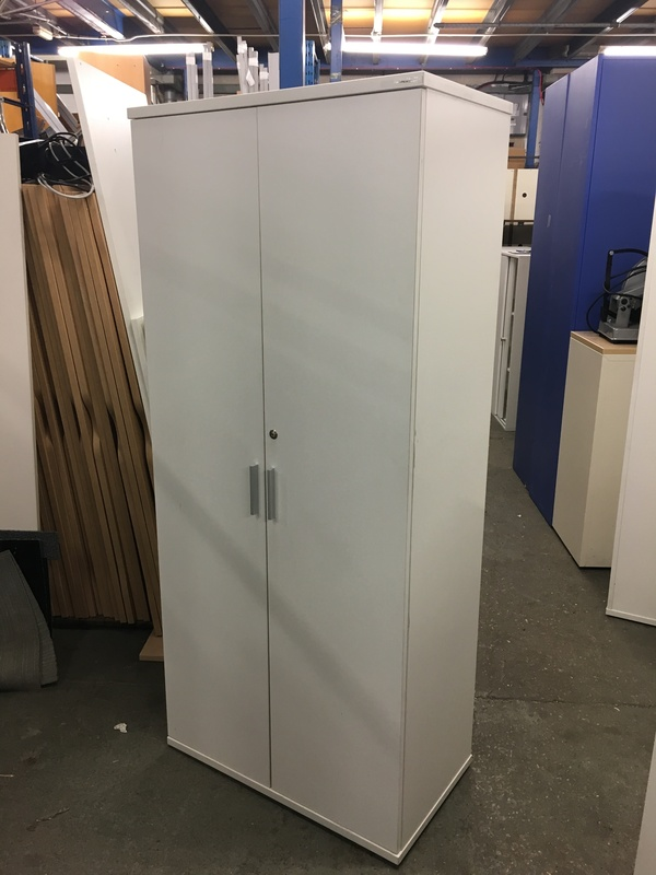 1800mm high white cupboards