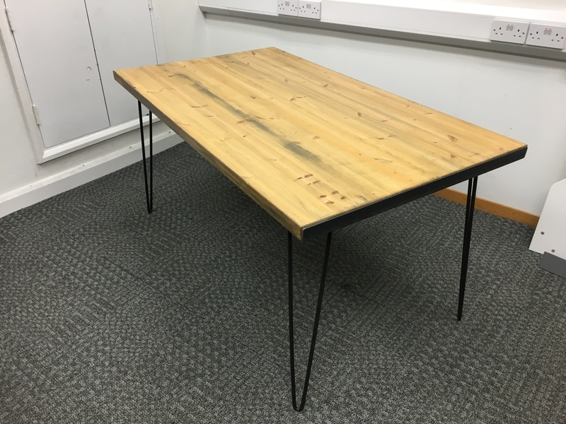 1500 x 850mm reclaimed wood tables