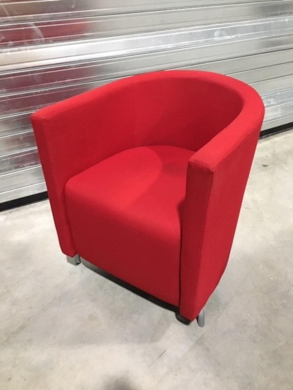 Red Boss Design Midi tub chair