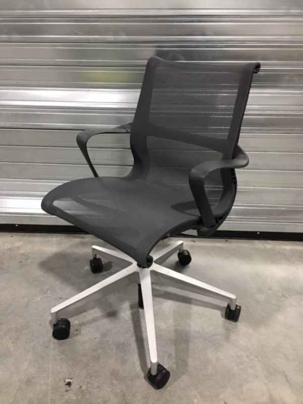 Graphite Herman Miller Setu task chair