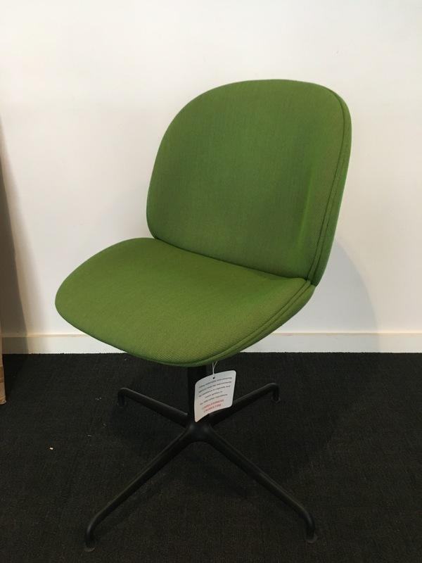 Green Gubi Beetle meeting chairs
