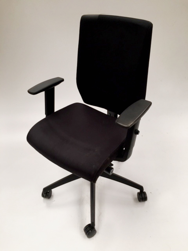 Black Nomique Pepi Upholstered task chair