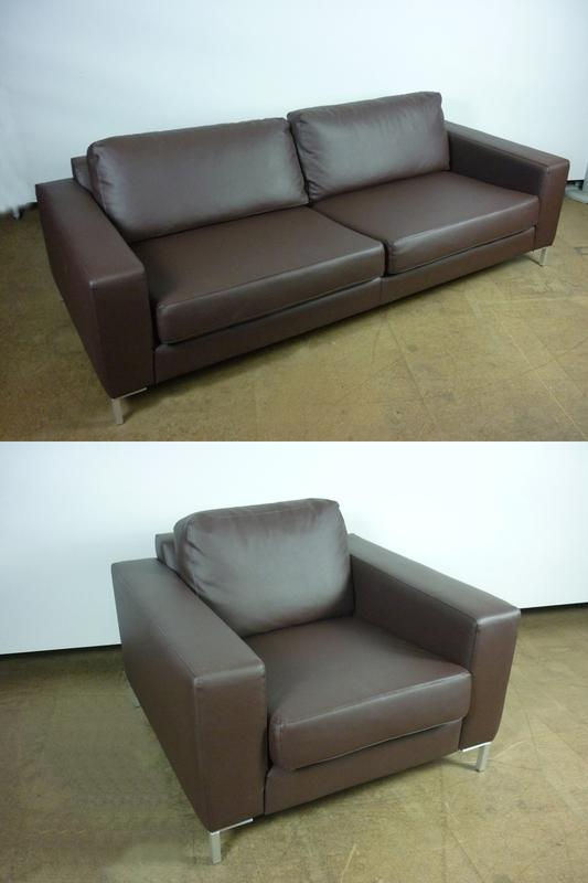 Jonas Ihreborn Filip nbspbrown sofas and armchairs