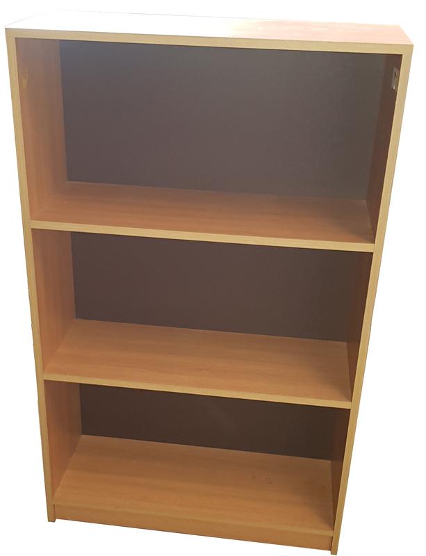 Oak shelving unit