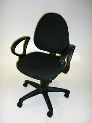 Charcoal 2 lever operator chairs