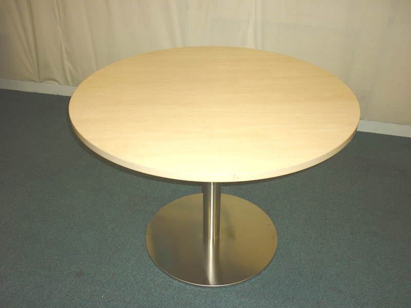 Selection of circular tables and bases from